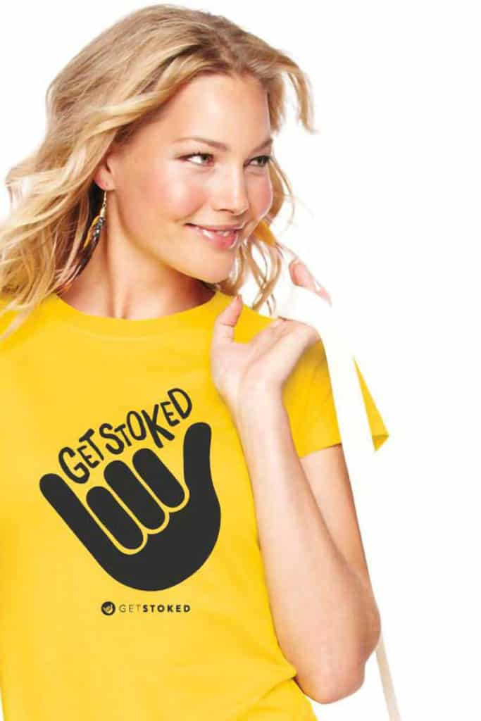 Get Stoked Promo T-Shirt